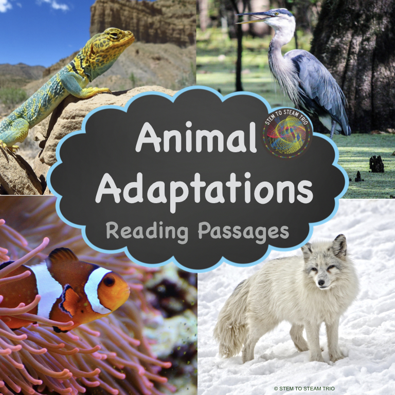 How do animals adapt to their environment? Read these passages to find out.