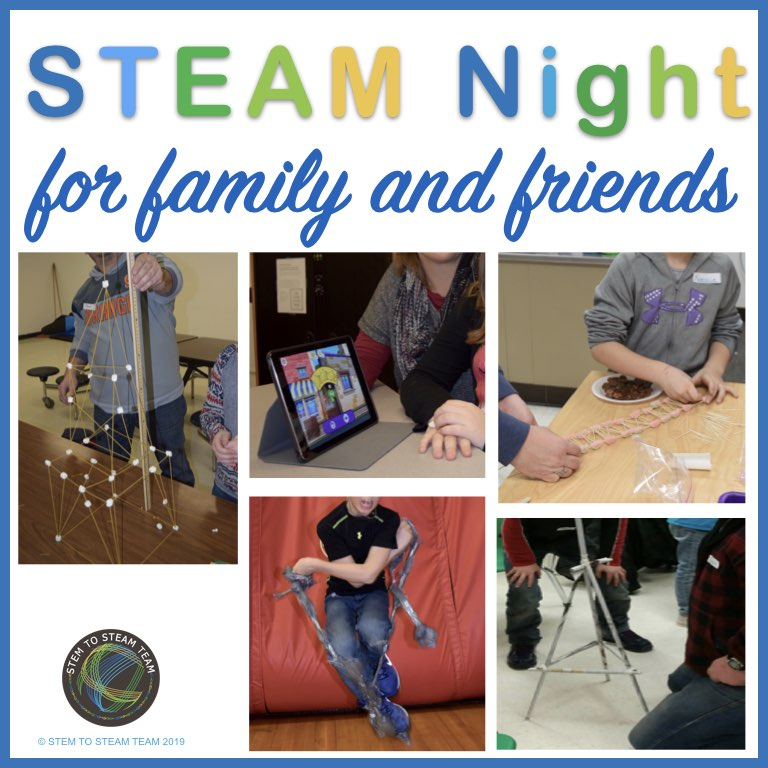 hosting a family stem night