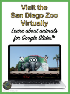 a prepared resource that takes students to the san diego zoo virtually