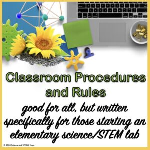 encourage teachers to read about procedures and rules