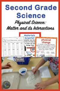 a link to a second grade science unit