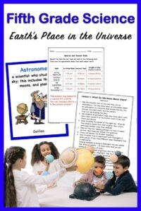 a link to a fifth grade science unit