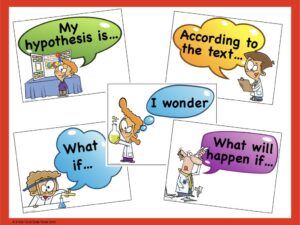accountable talk stems for science