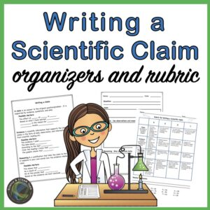 rubric for writing a scientific claim