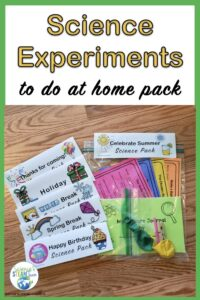 science experiment resource for teachers to use with families