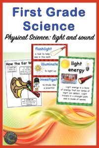 link to 1st grade physical science unit