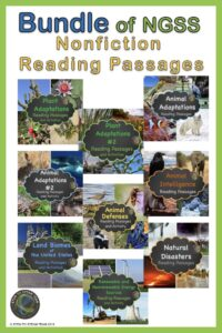 science reading passages that are differentiated link
