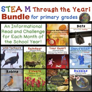 non-fiction texts with STEM challenges