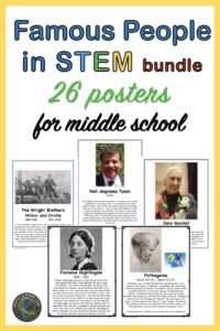 STEM posters and readings link
