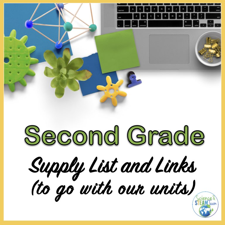science supplies for second grade featured image
