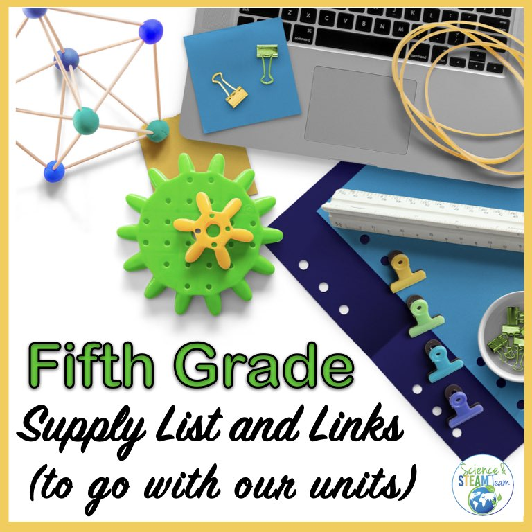 featured image for 5th grade science supplies