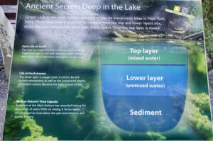 Green-lakes-meromictic-lake